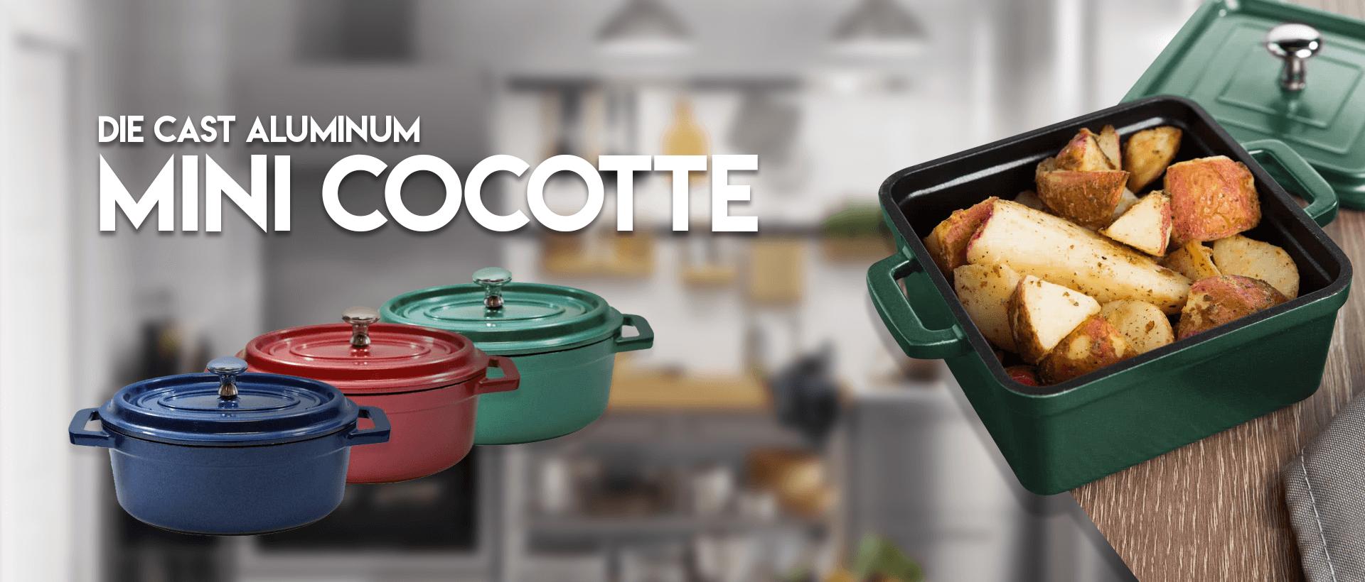 Die Cast Mini Cocotte
